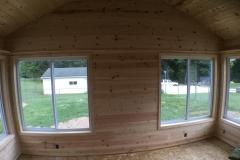 knotty pine walls