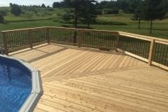 Cedar Pool Deck in Stillman Valley IL