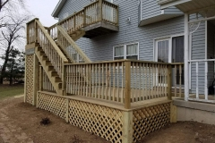 Rebuilt Deck in Sun Prairie WI